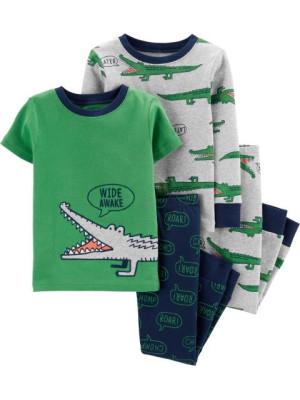 Carter's Set 2 pijamale Aligator
