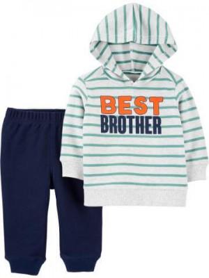 "Carter's Set 2 piese bluza si pantaloni ""Cel mai bun frate"""
