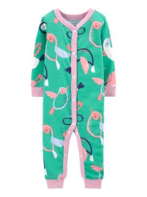 Carter's Pijama cu capse Colibri