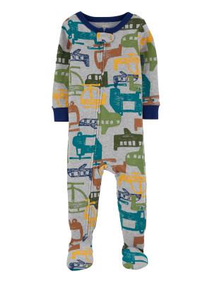Carter's Pijama cu fermoar Elicopter