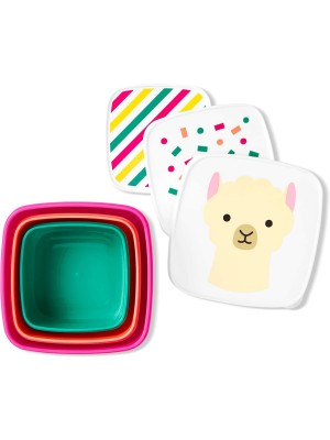 Skip Hop Set 3 cutii pentru pranz Zoo - Lama