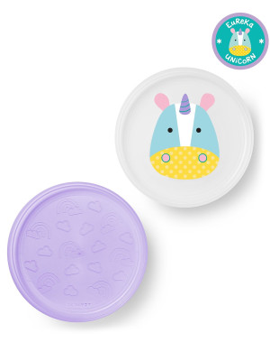 Skip Hop Set farfurii anti-alunecare - Unicorn