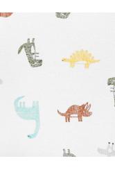 Carter's Set 4 piese body bebelus Dinozaur