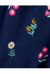 Carter's Set 2 piese tricou si salopeta Flori