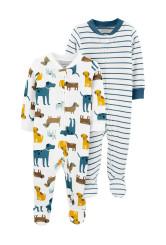 Carter's Set 2 piese pijamale bebe Catei