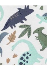 Carter's Set 3 piese body tricou si pantaloni scurti Dinozauri