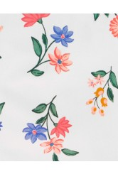 Carter's Set 2 piese tricou si sarafan Flori