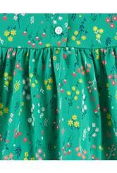 Carter's Rochita verde cu flori