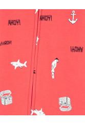 Carter's Pijama cu fermoar Rechin