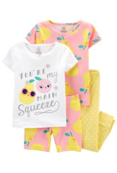 Carter's Set 2 pijamale Fructe
