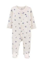 Carter's Pijama cu fermoar reversibil Flori