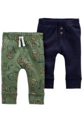 Carter's Set 2 piese pantaloni Leu
