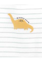 Carter's  Set 5 piese body Dinozauri