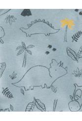 Carter's  Set 3 Piese body bebe cu capse laterale Dinozauri