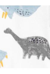 Carter's Set 2 piese pijama si caciulita Dinozauri