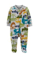 Carter's Pijama cu fermoar reversibil Elicopter