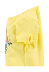 Oshkosh Tricou galben cu curcubeu