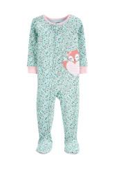 Carter's Pijama cu fermoar Vulpe