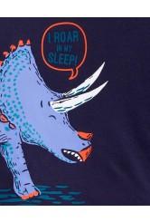 Carter's Pijama 3 piese Dinozaur