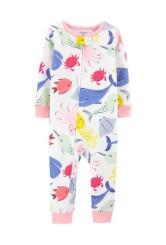 Carter's Pijama cu fermoar Balena