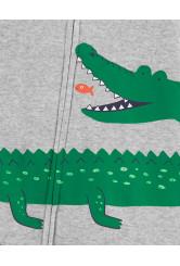 Carter's Pijama cu fermoar Aligator