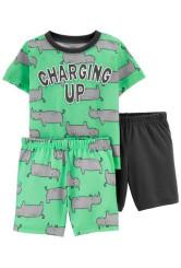 Carter's Pijama 3 piese Rinocer