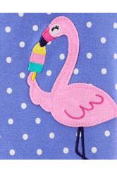 Carter's Pijama cu fermoar Flamingo