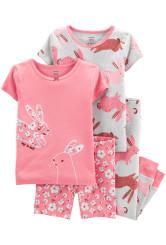 Carter's Set 2 pijamale Iepuras