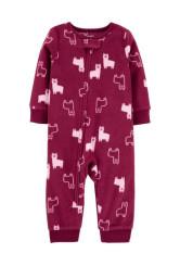 Carter's Pijama fleece Lama