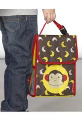 Skip Hop Saculet pentru pranz Zoo - Maimutica