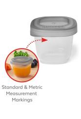 Skip Hop Recipiente pentru depozitarea mancarii, 60 ml (2 oz)