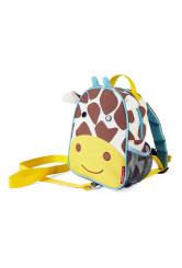 Skip Hop Ghiozdan cu centura de siguranta Zoo – Girafa