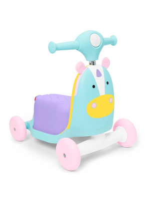 Skip Hop - Trotineta 3 in 1 Ride on Unicorn