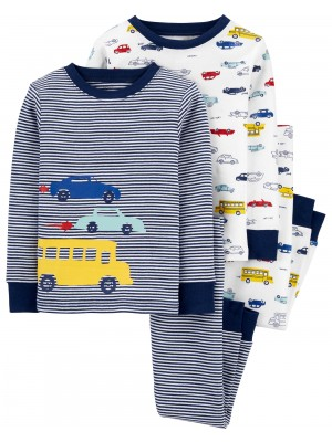 Carter's Set 2 pijamale Masini