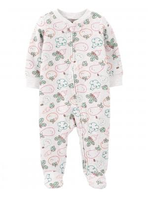 Carter's Pijama din bumbac Legume