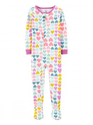 Carter's Pijama cu fermoar Inimioare