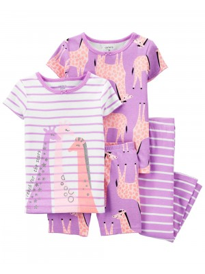 Carter's Set 2 pijamale Girafa