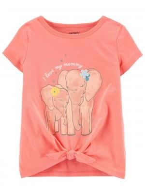 Carter's Tricou Elefanti