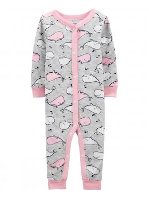 Carter's Pijama cu capse Balena